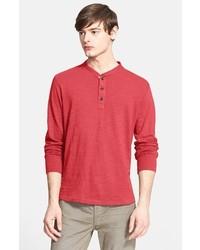 Camiseta henley roja de rag & bone