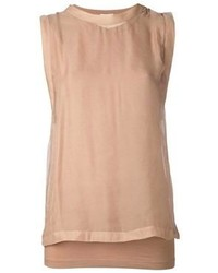 Camiseta marrón claro