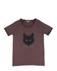 Camiseta marrón