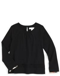 Camiseta negra de Burberry