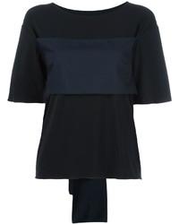 Camiseta Negra de MM6 MAISON MARGIELA