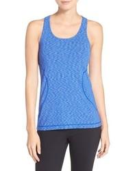 Camiseta sin Manga Azul de Zella