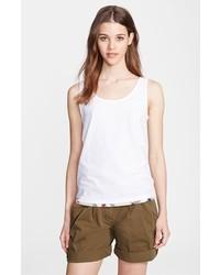 Camiseta sin manga blanca de Burberry