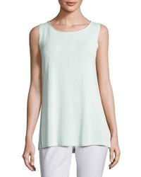 Camiseta sin manga blanca de Eileen Fisher