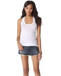 Camiseta sin manga blanca de Enza Costa