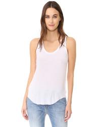 Camiseta sin manga blanca de Feel The Piece