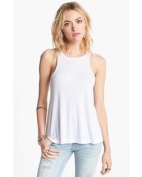 Camiseta sin manga blanca de Free People