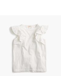 Camiseta sin manga blanca de J.Crew