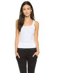Camiseta sin manga blanca de James Perse