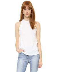 Camiseta sin manga blanca de Theory