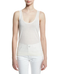 Camiseta sin manga blanca de Tom Ford