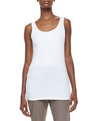 Camiseta sin manga blanca de XCVI