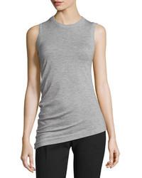Camiseta sin manga de lana gris de Joseph
