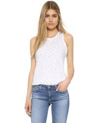 Camiseta sin manga estampada blanca de Stateside