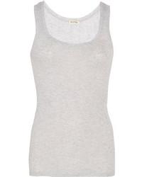 Camiseta sin manga gris