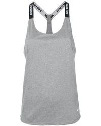 Camiseta sin manga gris de Nike