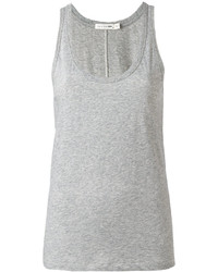 Camiseta sin manga gris de Rag & Bone