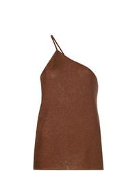 Camiseta sin manga marrón de Kacey Devlin