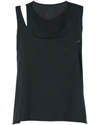 Camiseta sin manga negra de Nike