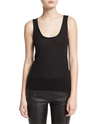 Camiseta sin manga negra de Tom Ford