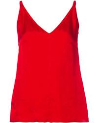 Camiseta sin manga roja de Golden Goose Deluxe Brand