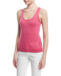 Camiseta sin manga rosa de Tom Ford