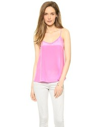 Camiseta sin manga rosada