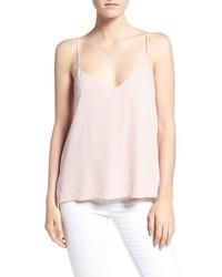 Camiseta sin manga rosada de Rebecca Minkoff