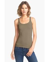 Camiseta sin Manga Verde Oliva