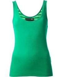 Camiseta sin Manga Verde