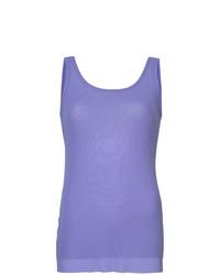 Camiseta sin Manga Violeta Claro de Fuzzi