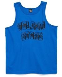 Camiseta sin mangas azul