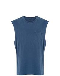 Camiseta sin mangas azul de OSKLEN