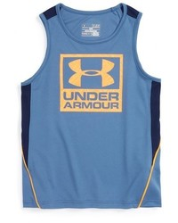 Camiseta sin mangas azul de Under Armour