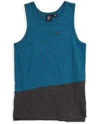 Camiseta sin mangas azul de Volcom