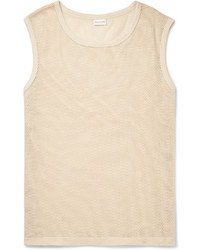 Camiseta sin Mangas Blanca de Dries Van Noten