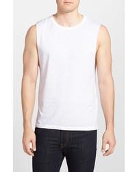 Camiseta sin mangas blanca de Gents