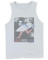 Camiseta sin mangas blanca de O'Neill
