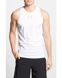 Camiseta sin mangas blanca de Under Armour