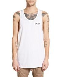 Camiseta sin mangas blanca de Zanerobe
