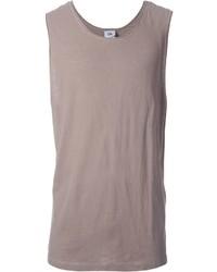 Camiseta sin mangas marrón claro de Chapter