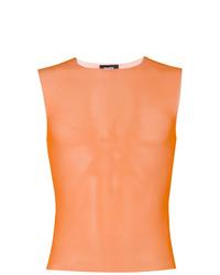 Camiseta sin mangas naranja de Dust