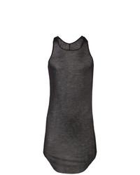 Camiseta sin mangas negra de Rick Owens
