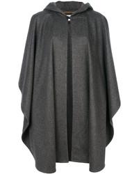 Capa en gris oscuro de Saint Laurent
