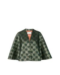 Capa verde oscuro de Gucci