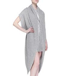 Cárdigan abierto gris de DKNY