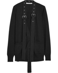 Cárdigan con adornos negro de Givenchy