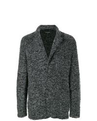 Cárdigan con cuello chal en gris oscuro de Engineered Garments