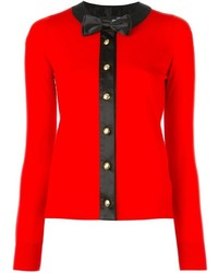 Cardigan rouge Love Moschino