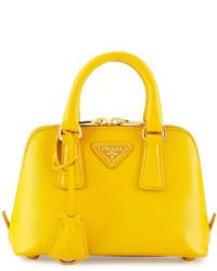 a814787b156 Comprar una cartera de cuero amarilla Prada